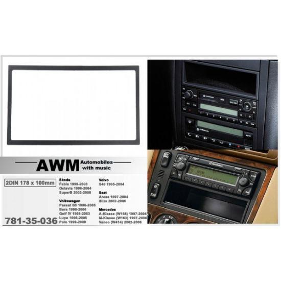 Переходная рамка AWM Volkswagen, Skoda, Mercedes (781-35-036)