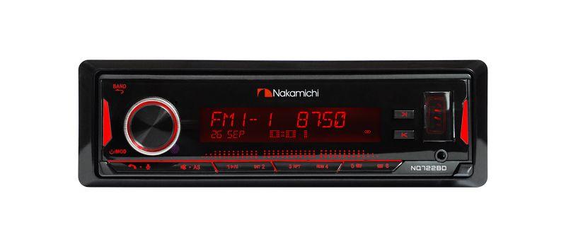 Процессорная автомагнитола 1DIN Nakamichi NQ722BD с Bluetooth