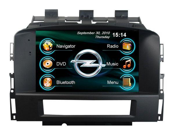 Штатная магнитола Opel Astra J 2010+