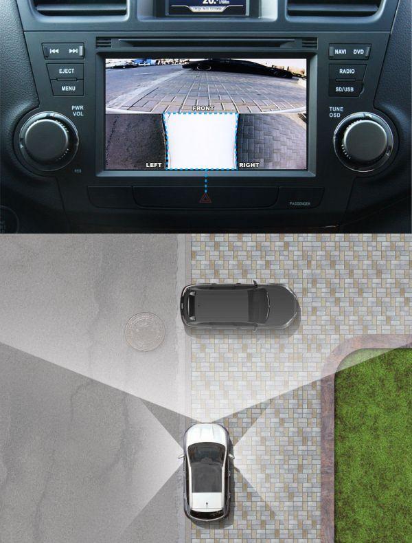 Парковочный ассистент Video Splitter