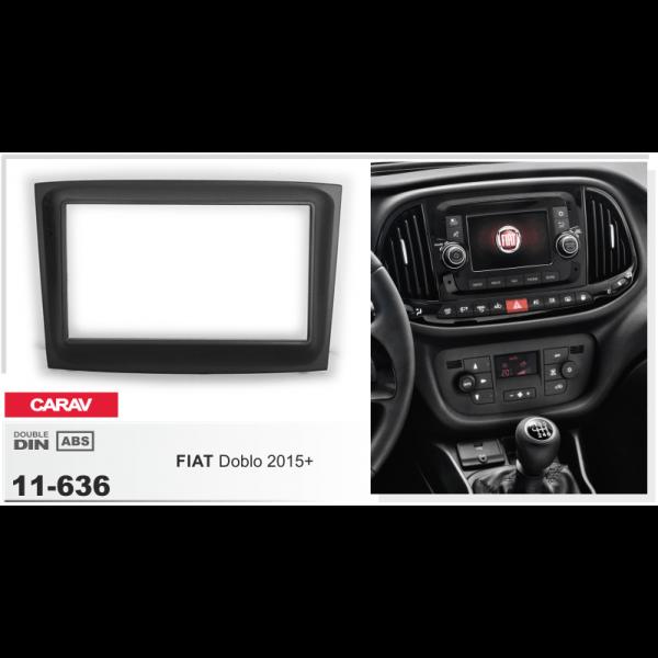 Переходная рамка CARAV Fiat Doblo (11-636)