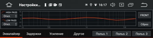 Магнитола Incar AHR-9380 c процессором звука
