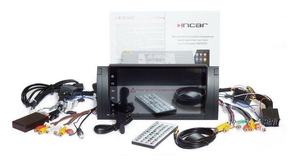 Штатная магнитола Incar TSA-1520A8 для BMW X5, кузов E53, E38, E39