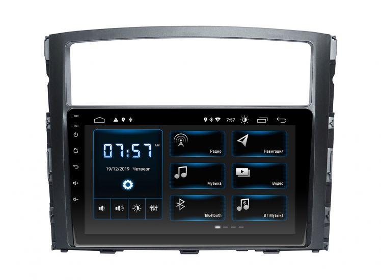 Штатная магнитола Incar XTA-6104 для Mitsubishi Pajero Wagon 4