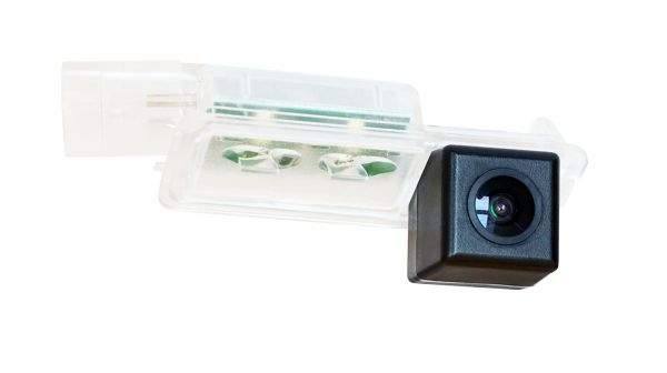 Штатная камера заднего вида Swat VDC-171 для Volkswagen Golf 7, Passat B7, B8, CC, Seat Leon III (2013-н.в.)