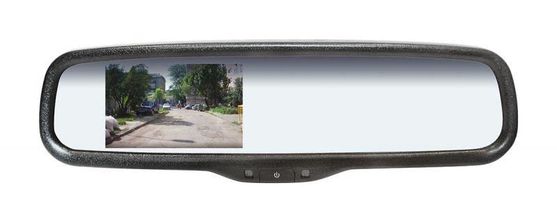 Зеркало заднего вида с экраном SWAT NEW